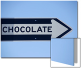 Street Sign That Says Chocolate in San Francisco  California