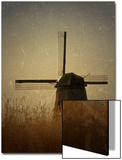 A Windmill with Old Photo Treatment