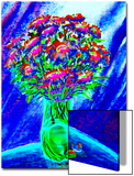 Bouquet of Asters in Vase