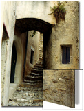 Narrow Alley in Old French Town Crest  France