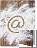 @' Symbol in Flour