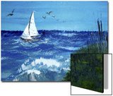 Sailboat in Stormy Seas