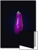 Eggplant on Dark Background