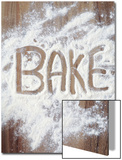 Word Bake in Flour