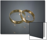 Wedding Bands on Glass
