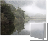 Mist over Kareiga River Near Kenton-On-Sea  Eastern Cape  South Africa