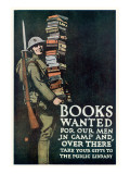 Books Wanted for Our Men In Camp and Over There