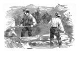 America  San Francisco Gold-Washing at the Diggings