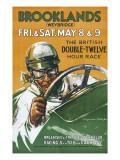 Brooklands Race Poster