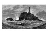 Calf Rock Lighthouse  Bantry Bay  Ireland  1881