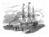 An Emigrant Ship Leaving Great Britain  1844