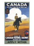 Canadian National Railways Poster