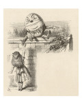 Alice Meets Humpty Dumpty and Hears the Alarming Story of His Great Fall