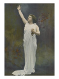 Mlle Delna in the Role of Cassandra