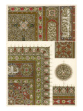 Designs from a Copy of the Koran in the Mosque El Barkookeyeh