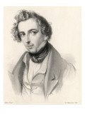 Felix Mendelssohn as a Young Man
