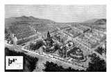 City Hall and Law Courts  San Francisco  California  1872