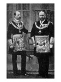 Edward VII as a Freemason