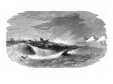 Federal Ironclad 'Keokuk' Off Charleston Harbor  1863