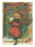 Illustrated London News Front Cover Christmas 1895