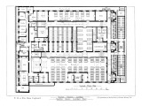 Ground Floor Plan  Rowton House  Camden  London