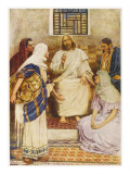 Jesus with the Sisters Mary and Martha at Bethany