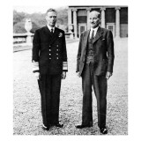 King George VI and Clement Attlee  at Buckingham Palace