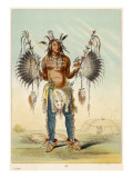 Medicine Man of the Mandan Tribe