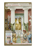 Phidias's Statue of Zeus  in the Temple of Zeus at Athens