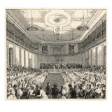 Mendelssohn Conducts His Own Music at the Leipzig Gewandhaus
