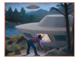 Steven Michalak Encounters a UFO at Falcon Lake  Canada