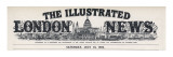 The Masthead of the Illustrated London News  Which Appeared on the First Inside Page