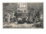 Tailors Work in Slum