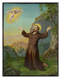 Saint Francis of Assisi - Receiving the Stigmata