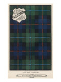 The Campbell (Cawdor) Tartan (Green  Blue and Red)