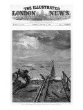 The Illustrated London News Front Cover of the Tay Bridge Disaster