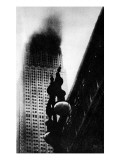 The Empire State Building  New York  on Fire  1945