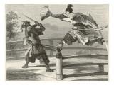 Samurai Warriers Fighting