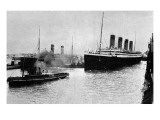 SS &#39;Olympic&#39; Leaving Southampton  1913