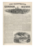 The Illustrated London News the Front Page of the First Issue