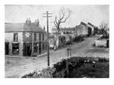 The Main Street of Dove Holes  Derbyshire  1913
