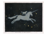 The Constellation of Monoceros - a Unicorn - and Canis Minor - a Small Dog