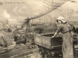 A Woman Working in the Belgian Pays Noir (Black Country)