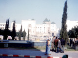 View of the Law Courts in Casablanca  Morocco
