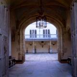 The Walkway into the Second Courtyard at Knole  Sevenoaks  Kent