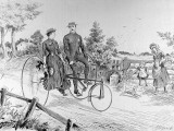 A Double-Seated Tricycle  1885