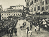 The Palio  Siena  Italy