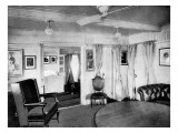 The Royal Apartments Aboard SS 'Ophir'  March 1901