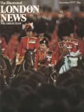 A Front Cover from the Illustrated London News of Queen Elizabeth's Silver Jubilee