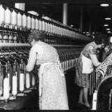 Women Working in a Cotton Mill